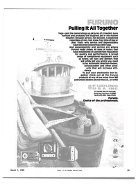 Maritime Reporter Magazine, page 27,  Mar 1983