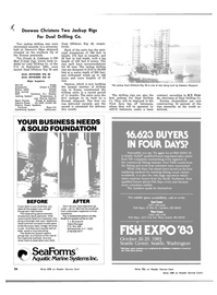 Maritime Reporter Magazine, page 32,  Mar 1983 Ross Hill Cementing