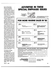 Maritime Reporter Magazine, page 37,  Mar 1983
