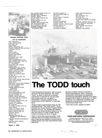 Maritime Reporter Magazine, page 49,  Mar 1983 GLEN EAGLE