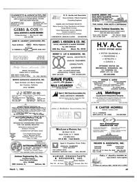 Maritime Reporter Magazine, page 69,  Mar 1983 California