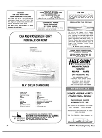 Maritime Reporter Magazine, page 3rd Cover,  Mar 1983