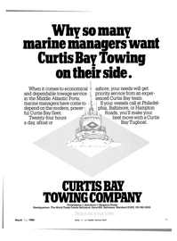 Maritime Reporter Magazine, page 17,  Mar 15, 1983 Hampton Roads Headquarters