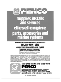 Maritime Reporter Magazine, page 2nd Cover,  Mar 15, 1983 NEW AND RECONDITIONED PARTS PLUS SERVICE