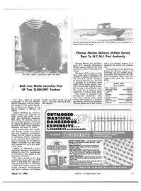 Maritime Reporter Magazine, page 27,  Mar 15, 1983 Robert J. Blackwell
