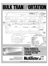 Maritime Reporter Magazine, page 1,  Mar 15, 1983 McAllister Brothers Inc.