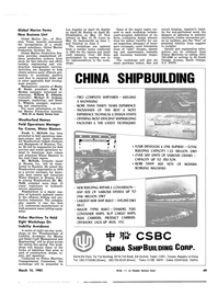 Maritime Reporter Magazine, page 51,  Mar 15, 1983