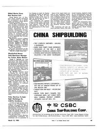 Maritime Reporter Magazine, page 53,  Mar 15, 1983