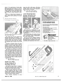 Maritime Reporter Magazine, page 5,  Mar 15, 1983 Reliable Crane Division of Stanspec Corporation
