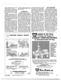 Maritime Reporter Magazine, page 11,  Jul 15, 1983