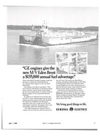 Maritime Reporter Magazine, page 21,  Jul 15, 1983