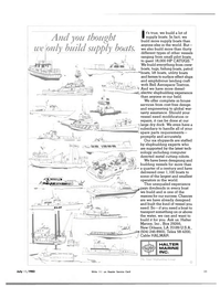 Maritime Reporter Magazine, page 29,  Jul 15, 1983 metal cutting robots