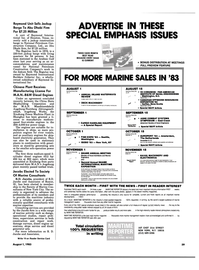 Maritime Reporter Magazine, page 55,  Jul 15, 1983 Washington