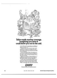Maritime Reporter Magazine, page 56,  Jul 15, 1983 insurance marketplace