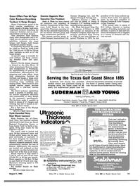 Maritime Reporter Magazine, page 13,  Aug 1983 Pennsylvania