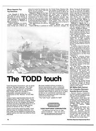 Maritime Reporter Magazine, page 16,  Aug 1983 Connecticut