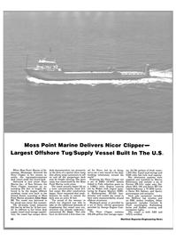 Maritime Reporter Magazine, page 20,  Aug 1983 Marine Inc.