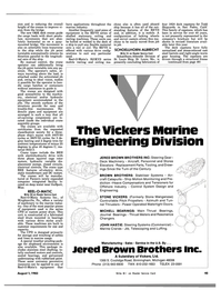 Maritime Reporter Magazine, page 43,  Aug 1983 California