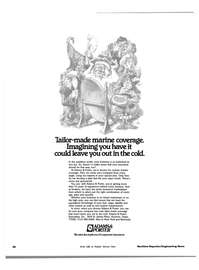 Maritime Reporter Magazine, page 48,  Aug 1983 insurance marketplace