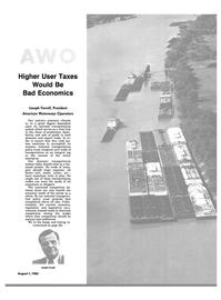 Maritime Reporter Magazine, page 55,  Aug 1983 transportation modes