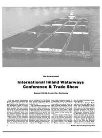 Maritime Reporter Magazine, page 4,  Aug 1983 J. W. Hershey