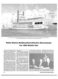 Maritime Reporter Magazine, page 58,  Aug 1983 Ralston P. Cole