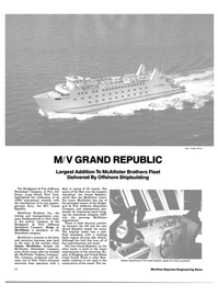 Maritime Reporter Magazine, page 22,  Oct 1983 transportation