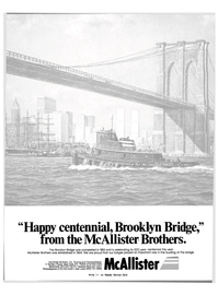 Maritime Reporter Magazine, page 1,  Oct 1983 McAllister Brothers Inc.