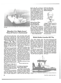 Maritime Reporter Magazine, page 32,  Oct 1983 Marlow Pumps