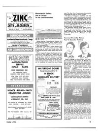 Maritime Reporter Magazine, page 51,  Oct 1983 Illinois