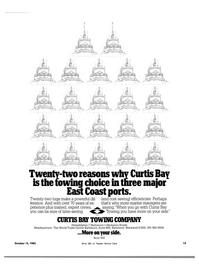 Maritime Reporter Magazine, page 13,  Oct 15, 1983