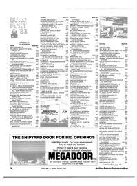 Maritime Reporter Magazine, page 14,  Oct 15, 1983 H. VAN EIJK