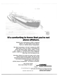 Maritime Reporter Magazine, page 2nd Cover,  Oct 15, 1983 Division of LEEVAC Corporation Write