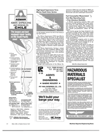 Maritime Reporter Magazine, page 26,  Oct 15, 1983