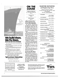 Maritime Reporter Magazine, page 2,  Oct 15, 1983