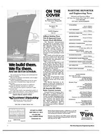 Maritime Reporter Magazine, page 2,  Oct 15, 1983 Missouri