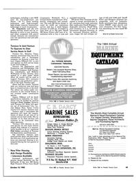 Maritime Reporter Magazine, page 45,  Oct 15, 1983