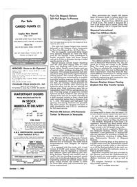 Maritime Reporter Magazine, page 53,  Oct 15, 1983