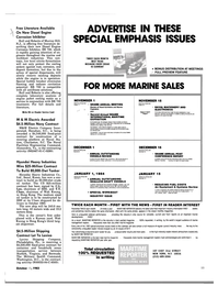 Maritime Reporter Magazine, page 59,  Oct 15, 1983