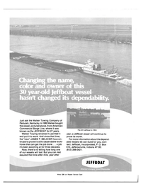 Maritime Reporter Magazine, page 4th Cover,  Oct 15, 1983 JAMES T. BELCHER