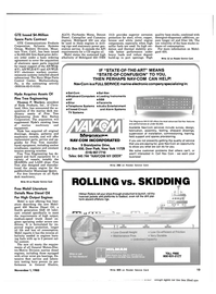 Maritime Reporter Magazine, page 11,  Nov 1983 New York