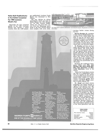 Maritime Reporter Magazine, page 32,  Nov 1983 Evaporator Feed Fresh Water Service Hot Water