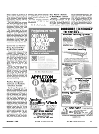 Maritime Reporter Magazine, page 33,  Nov 1983