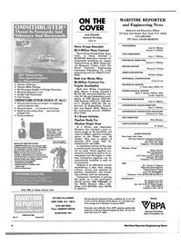 Maritime Reporter Magazine, page 2,  Nov 1983