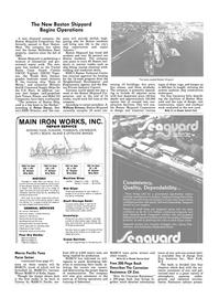 Maritime Reporter Magazine, page 42,  Nov 1983