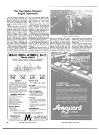 Maritime Reporter Magazine, page 44,  Nov 1983