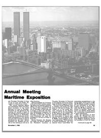 Maritime Reporter Magazine, page 49,  Nov 1983