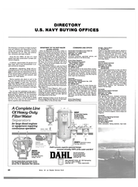 Maritime Reporter Magazine, page 56,  Nov 1983 Navy Buying