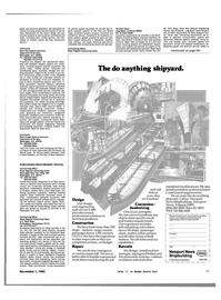 Maritime Reporter Magazine, page 57,  Nov 1983