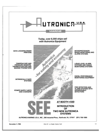 Maritime Reporter Magazine, page 59,  Nov 1983 THERMOCOUPLERS AND MARINE PYROMETERS INTRINSICALLY SAFE SYSTEMS